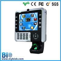 8'' screen fingerprint time attendance IClock2500