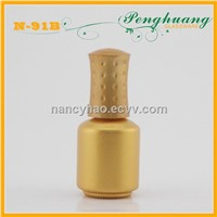 8ml gold nail polish glass bottle