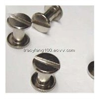 Flat Heat Metal Decorative Solid Wheel Rivet/Precision Rivet M4M5