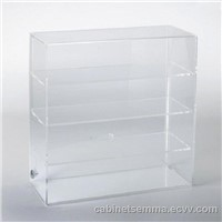 Acrylic Lockable Countertop Display Case