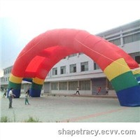 Air inflatable event tent