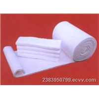 Aluminum silicate silk-rejecting fiber blanket