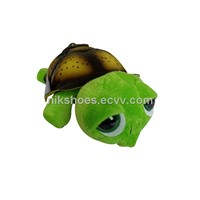 Big Eyes Musical Baby Green Turtle 4 musics+4 songs plush soft toys