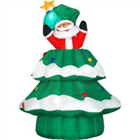 Big Inflatable Christmas Decoration Tree (XZ-CH-022)