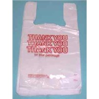 Biodegradable Plastic T-Shirt Bag with High Quality and competitive price