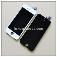 Black LCD Screen Digirtizer Assembly Replacement for iphone 5, Good quality
