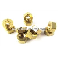 DIN934 Brass Hexagon Nuts/ GB/T 6170-86 Cooper Brass Thread Insert Nuts M3M4M5M6M8M10M12M14M16M18