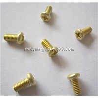 DIN 7985 Brass Philips Pan Head Screws