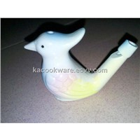 Ceramic bird whistle Bird shape Water Warbler