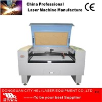 China Helilaser factory Laser glass bottle engraving machine