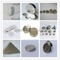 China High Quality Round Sintered Ndfeb Permanent Magnet for Sale