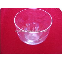 Clear D# sacral singing bowls 6inch
