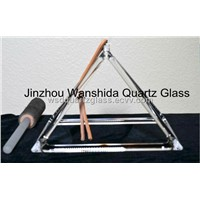 Clear singing pyramid good quality new product