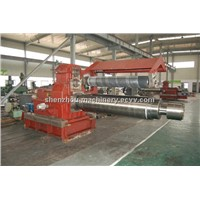 Coiler for aluminum strip