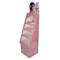 Cosmetics Paper Display Rack