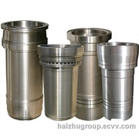 Cylinder liners for marine engines