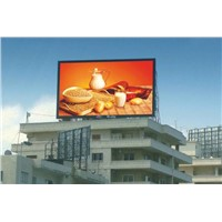 DIP RGB P6 Outdoor Advertising LED Displays , High Brightness Screen Panel
