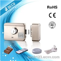 BECK Iron Electric Motor Lock Mute Door Lock 2000 Card Home Scurity for Access Control System Doorbell System