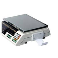 Electronic Price Scale with High Precision with Printer