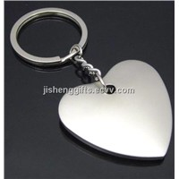 Fashion Metal Heart-Shape Keychain