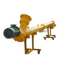Fly ash screw conveyor