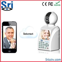 Free Video Call Motion Detection P2P Wifi Camera Wireless Network Phone Camera