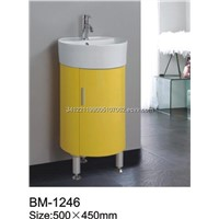Freestanding PVC Bathroom Cabinet