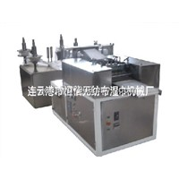 Full automatic four lines alcohol pad  machine