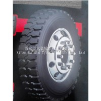 Full steel heavy duty radial tire