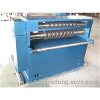 Gang slitting/cutting machine for tin cans