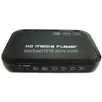 HDMI 1080P USB External HDD Media player With SD MMC card reader support MKV H.264 RMVB