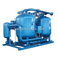 Heated desiccant air dryer  big flow capacity