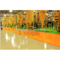 Heavy duty epoxy floor coating