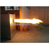 High Efficiency Biomass Burner