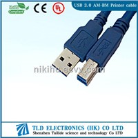 High Quality USB 3.0 AM-BM Printer Cable