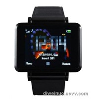 High Quality widescreen Wrist watch phone