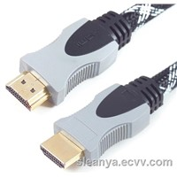 High Speed HDMI Cable with Grey&Black color