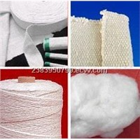 High-temperature crystal fiber product