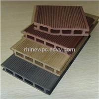 Hollow WPC Decking Sanding Outdoor Flooring Board Pest-resistant Wood Plastic Composite Panel