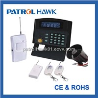 Home alarm system with LCD display + keypad control (PH-G50B)