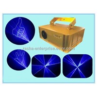 Hot 15KPPS SD Card 1W Blue Disco Laser Light for Xmas Promotion,Laser Light,Support Edit Program