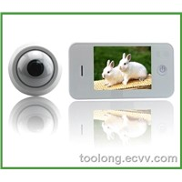 Household Security Digital Door Viewer +door Bell+ Night Vision+ Large Screen