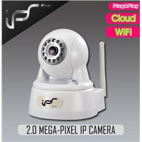 IPS-Ki-E Newest 2megapixel IP Household Camera support PT P2P WIFI