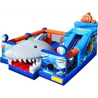 Inflatable Underwater World Obstacle Course with CE, SGS, En Approved Xz-Ob-22