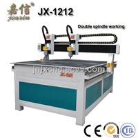 JX-1212 JIAXIN Double Spindle Wood CNC Router Machine