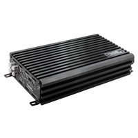 K series compact car amplifier Class AB 4CH Amplifier