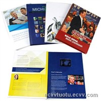 LCD/TFT video greeting card/book/notebook