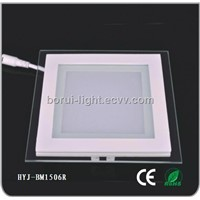 LED Square Glass Die-Casting Panel Lamp