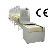 Latex mattress microwave dryer and sterilizer equipment