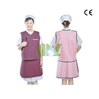 Lead free apron | x-ray protection clothing - MSLLA01